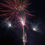 Fireworks at Milne Dam Conservation Park