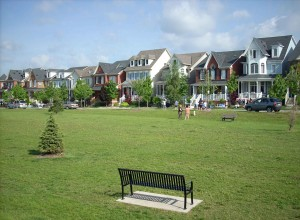Greenspace and Houses in Cornell Markham Real Estate Blog