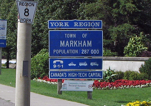 Town of Markham Sign Markham Real Estate Blog